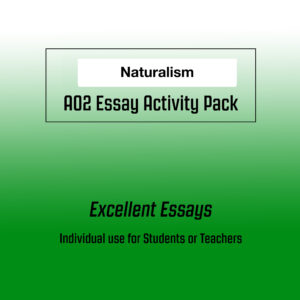 Naturalism AO2 Activity Pack Image