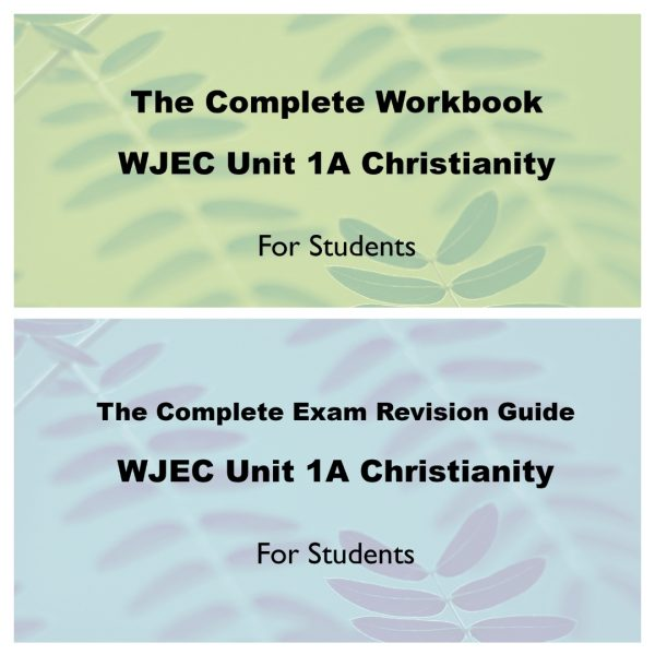 Image of Workbook and Revision Guide for WJEC Christianity GCSE Unit 1A